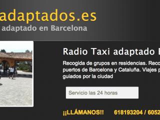 Taxis adaptados de Barcelona